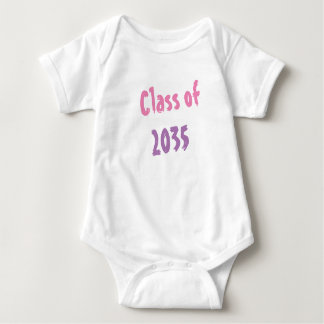 Onsie Class of 2035.  A new baby must have! Baby Bodysuit