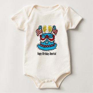 Onsie/Creeper: 4th of July Baby Bodysuit