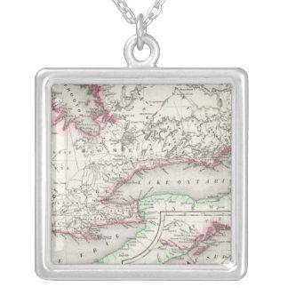 Ontario, Canada Silver Plated Necklace