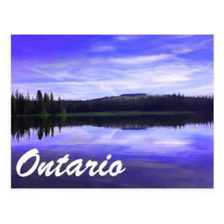 Ontario Lakes Postcard