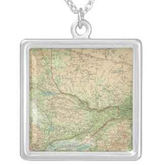 Ontario & Quebec Silver Plated Necklace
