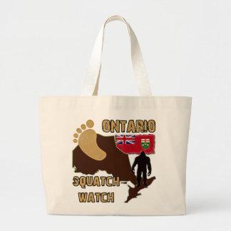 Ontario Squatch Watch Jumbo Tote Bag