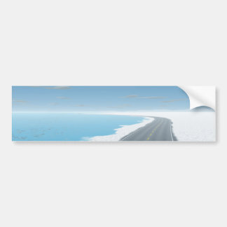 OnTheRoadAgain - Ice Road Bumper Sticker
