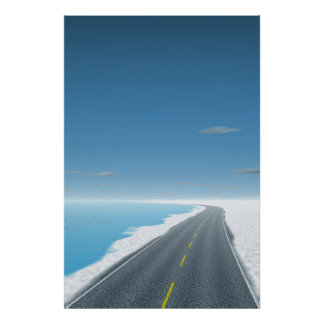 OnTheRoadAgain - Ice Road Poster