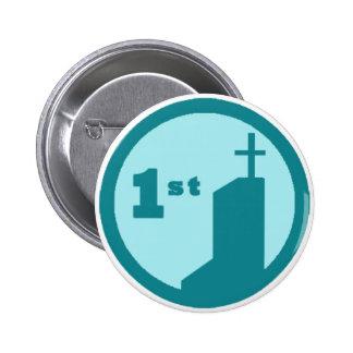 ONU Squared - 1st Chapel Checkin Badge Button