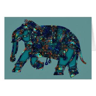 Onyx Elephant Card