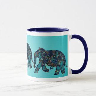 Onyx Elephant Mug
