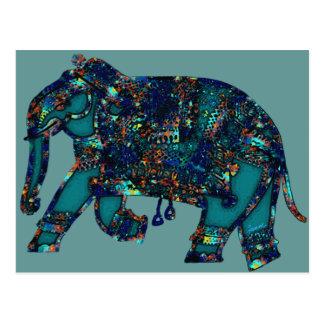 Onyx Elephant Post Card