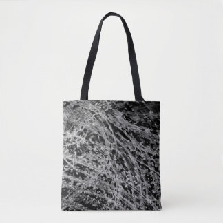 Onyx & Jet Tote Bag by Artist C.L. Brown
