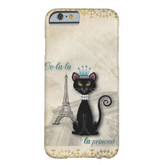 Oo-la-la French Kitty Princess Barely There iPhone 6 Case