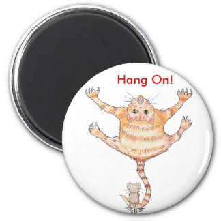 Ooch Ouch! Cat & Mouse Magnet