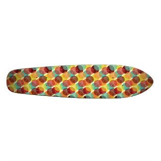 Oodles of Dots Skateboard - Warm