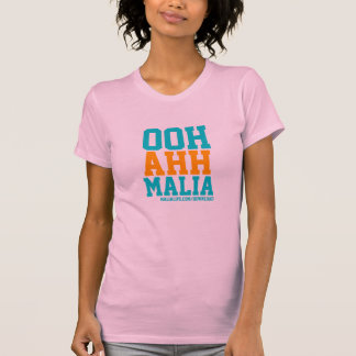OOH AHH MALIA - Ladies Spaghetti Top - Pink