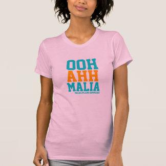 OOH AHH MALIA - Ladies Spaghetti Top - Pink Tshirt