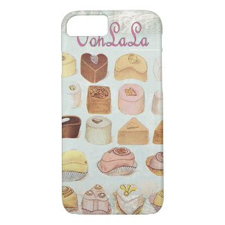 ooh la la bakery  pastry chocolate french cafe iPhone 8/7 case