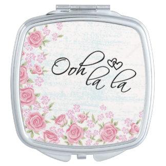 Ooh la la compact mirror