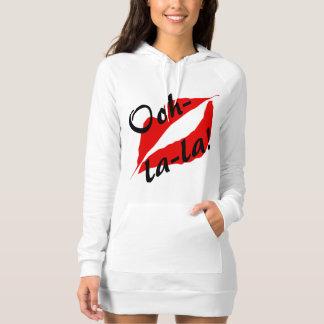 Ooh-la-la! Hoodie Dress