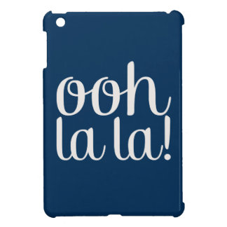 Ooh La La Navy Cover For The iPad Mini