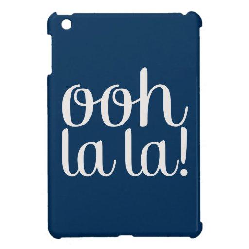 Ooh La La Navy Cover For The iPad Mini