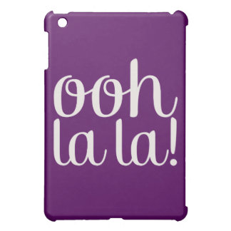 Ooh La La Purple iPad Mini Covers