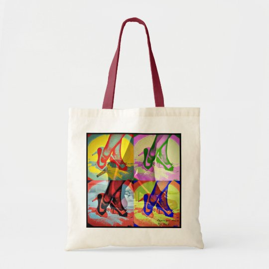ooh la la shoes tote bag