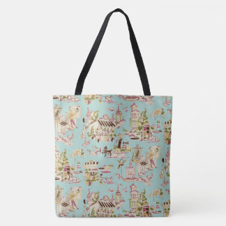 Ooh La La Sugarplum Tote Bag