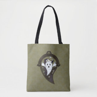 Ooh the Ghost All-Over-Print Bag