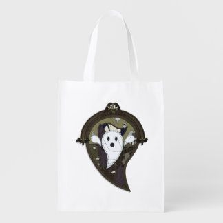 Ooh the Ghost Reusable Grocery Bag