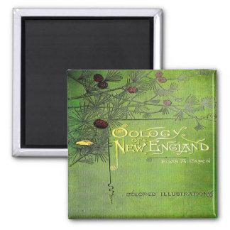Oology Of New England 1886 Fridge Magnet