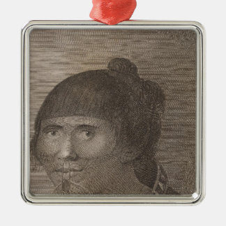 Oonalashka woman, Alaska Christmas Ornament