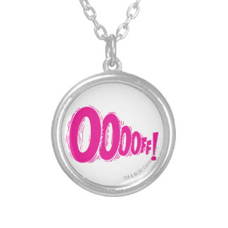 OOOOFF! SILVER PLATED NECKLACE