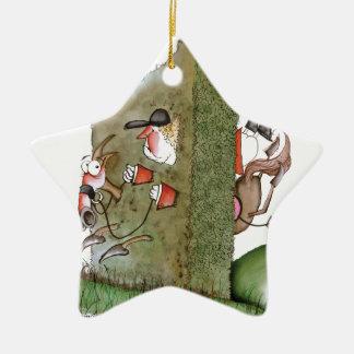 Oooooops!, tony fernandes ceramic star decoration