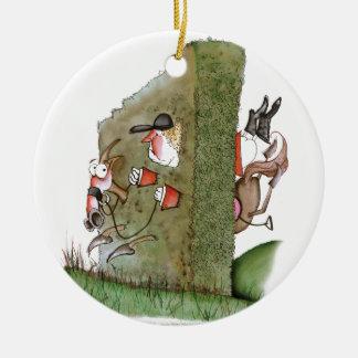Oooooops!, tony fernandes round ceramic decoration