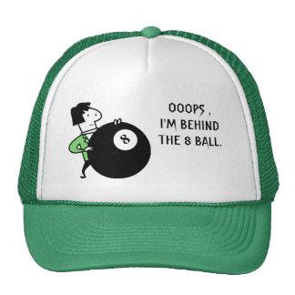Ooops, I'm Behind Hat