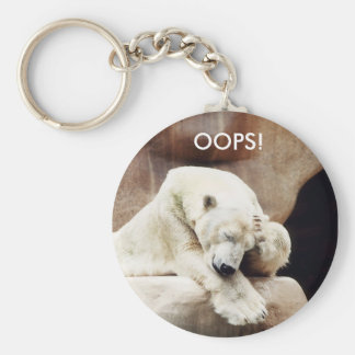 OOPS - Befuddled Bear Key Ring