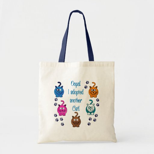 Oops!  I Adopted Another Cat! Bag