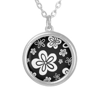Oopsy Daisy - reverse Silver Plated Necklace