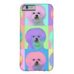 Op Art - Bichon Frise Barely There iPhone 6 Case