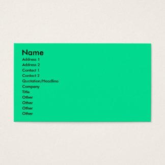 Op Art - Bichon Frise - Cody Business Card