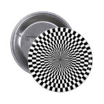 Op Art - Black and White Buttons