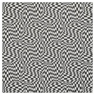 Op Art Checks Fabric