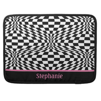 Op Art Checks MacBook Pro Sleeve