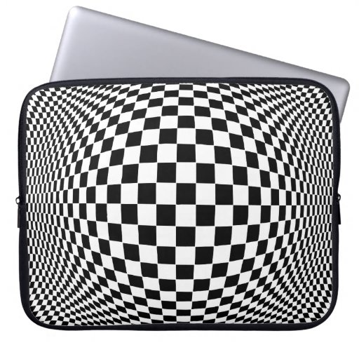 Op Art Computer Sleeve