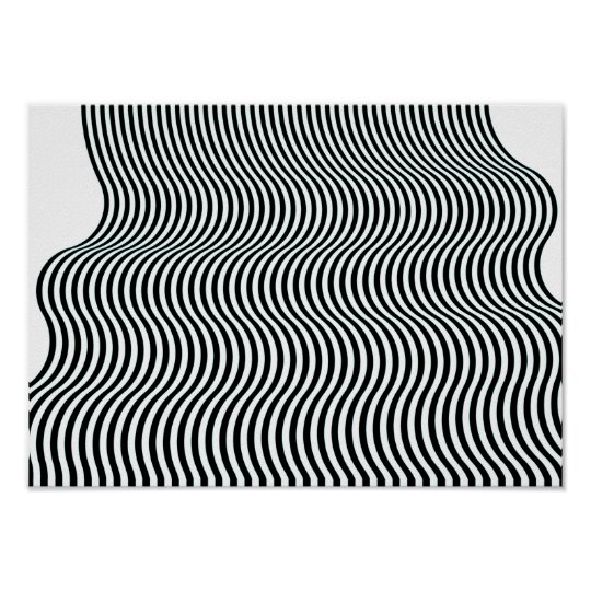 Op art current 06 algorithm poster