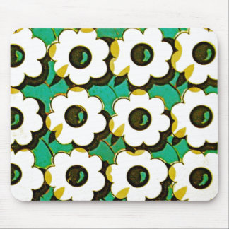 OP ART FLOWERS Mousepad