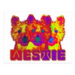 Op Art - West Highland Terrier