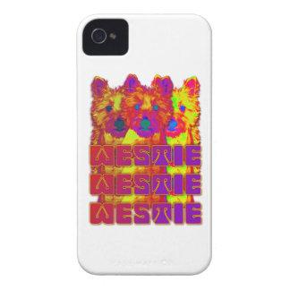 Op Art - West Highland Terrier iPhone 4 Cases