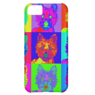 Op Art - West Highland Terrier iPhone 5C Covers
