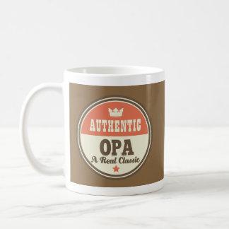 Opa Father's Day Vintage Mug Coffee Mugs