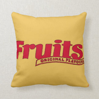 Opal and Fruits cushion